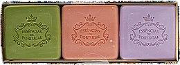 Voňavky, Parfémy, kozmetika Sada - Essencias De Portugal Aromas Collection Autumn Set (soap/3x80g)