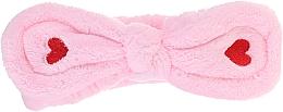 Voňavky, Parfémy, kozmetika Kozmetická čelenka do vlasov, ružová - Lash Brow Cosmetic SPA Band