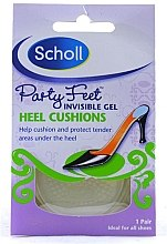 Voňavky, Parfémy, kozmetika Nepriehľadné gélové vankúšiky zmäkčujúce bolesť pri chôdze - Scholl Party Feet Heel Cushions