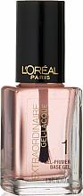 Voňavky, Parfémy, kozmetika Primer na nechty - L'Oreal Paris Extraordinaire Gel-Lacque Gel Primer 1