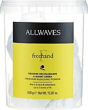 """Voňavky, Parfémy, kozmetika Prašok na zosvetlenie vlasov """"Slobodné ruky"""" - Allwaves Freehand Bleaching Powder"""