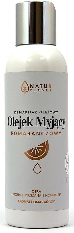 Čistiaci olej na tvár - Natur Planet Facial Cleansing Oil Orange