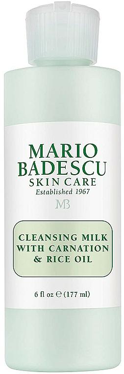 Mlieko na odličovanie - Mario Badescu Cleansing Milk With Carnation & Rice Oil — Obrázky N1