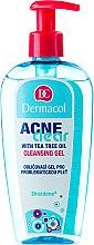 Voňavky, Parfémy, kozmetika Gél na odstránenie make-upu a čistenie pleti - Dermacol Acne Clear Make-Up Removal & Cleansing Gel