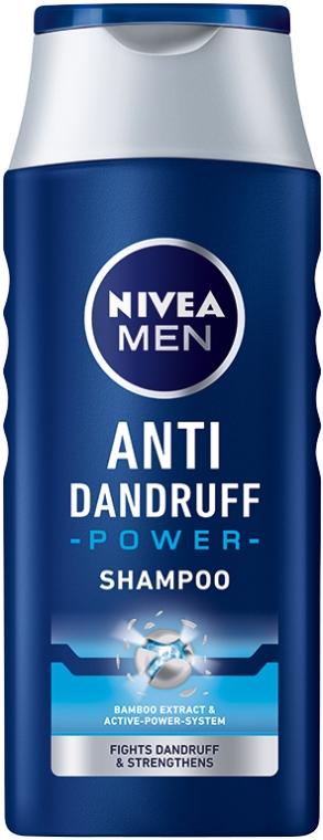 """Šampón """"Posilňujúci"""" proti lupinám pre mužov - Nivea For Men Anti-Dandruff Power Shampoo — Obrázky N1"""