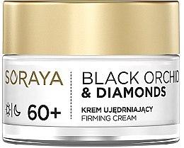 Voňavky, Parfémy, kozmetika Spevňujúci krém na tvár - Soraya Black Orchid & Diamonds 60+ Firming Cream