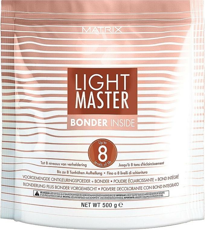 Rozjasňujúci púder s ochranným komplexom - Matrix Light Master 8 Bonder Inside
