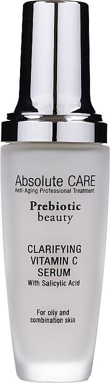 Čistiace sérum na tvár s vitamínom C - Absolute Care Prebiotic Beauty Clarifying Vitamin C Serum