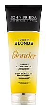 """Voňavky, Parfémy, kozmetika Zosvetľujúci kondicionér """"Staň sa svetlejším"""" - John Frieda Sheer Blonde Soin Demelant Eclaircissante Go Blonder"""