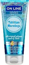 Voňavky, Parfémy, kozmetika Telový peeling - On Line Senses Body Scrub Tahitian Morning