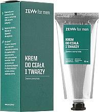 Voňavky, Parfémy, kozmetika Krém na tvár a telo - Zew For Men Face And Body Cream