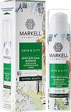 """Voňavky, Parfémy, kozmetika Krém na tvár denný """"Snehová huba"""" suchá a normálna pleť - Markell Cosmetics Skin&City Face Cream"""