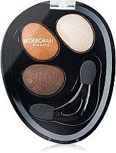 Voňavky, Parfémy, kozmetika Očné tiene na viečka - Deborah Hi-Tech Eye Shadow Trio