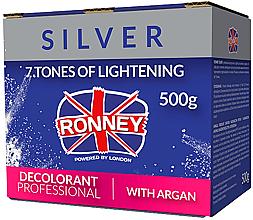 Voňavky, Parfémy, kozmetika Prášok na zosvetlenie vlasov s argánovým olejom - Ronney Dust Free Bleaching Powder With Argan