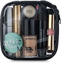 """Voňavky, Parfémy, kozmetika Kozmetická taška priehľadná """"Visible Bag"""" 12x12x5 cm (bez kozmetických prostriedkov) - MakeUp"""
