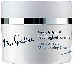 Voňavky, Parfémy, kozmetika Ľahký hydratačný krém - Dr. Spiller Fresh & Fruit Moisturizing Cream