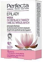 Voňavky, Parfémy, kozmetika Vosk na depiláciu tváre a citlivých oblastí - Perfecta Epilady