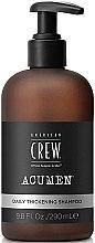 Voňavky, Parfémy, kozmetika Zahusťujúci šampón na vlasy - American Crew Acumen Daily Thickening Shampoo