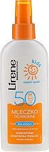 Voňavky, Parfémy, kozmetika Mlieko v spreji na opaľovanie s ochranou proti slnku SPF 50 - Lirene Kids Sun Protection Milk Spray SPF 50