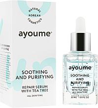 Voňavky, Parfémy, kozmetika Upokojujúce sérum na tvár - Ayoume Tea Tree Soothing & Purifying Serum