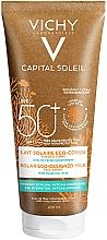 Voňavky, Parfémy, kozmetika Hydratačné opaľovacie mlieko na tvár a telo - Vichy Capital Soleil Solar Eco-Designed Milk SPF 50+