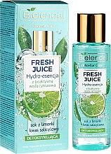 """Voňavky, Parfémy, kozmetika Hydratačná esencia pre tvár """"Limetka"""" - Bielenda Fresh Juice Detoxifying Face Hydro Essence Lime"""