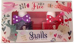 Voňavky, Parfémy, kozmetika Sada detských lakov na nechty 2x10,5ml - Snails Mini Bebe Be Free