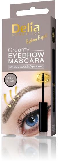 Krémová maskara na obočie - Delia Creamy Eyebrow Mascara