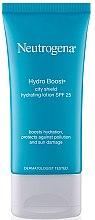 Voňavky, Parfémy, kozmetika Hydratačný lotion s SPF 25 - Neutrogena Hydro Boost City Shield Hydrating Lotion SPF 25
