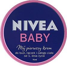 """Voňavky, Parfémy, kozmetika Detský krém """"Môj prvý krém"""" - Nivea Baby My First Cream"""