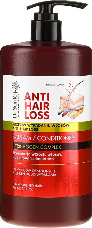 Balzam na oslabené a náchylné k vypadávaniu vlasy s dávkovačom - Dr. Sante Anti Hair Loss Balm