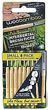 Voňavky, Parfémy, kozmetika Sada medzizubných kefiek, 8 ks. - Woobamboo Toothbrush Interdental Brush Picks Small