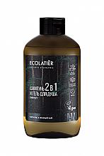 Voňavky, Parfémy, kozmetika Pánsky sprchový gél a šampón 2 v 1 - Ecolatier Urban Energy