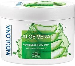 """Voňavky, Parfémy, kozmetika Upokojujúci telový krém """"Aloe vera"""" - Indulona Aloe Vera Soothing Body Cream"""