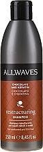 """Voňavky, Parfémy, kozmetika Šampón na vlasy """"Čokoláda a keratín"""" - Allwaves Chocolate And Ceratine Restructuring Shampoo"""