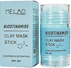 Voňavky, Parfémy, kozmetika Maska na tvár v tyčinke Nicotinamide - Melao Nicotinamide Clay Mask Stick