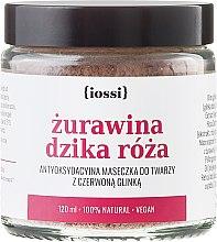 """Voňavky, Parfémy, kozmetika Maska pre tvár """"Brusnica a divoká ruža"""" - Iossi Face Mask"""