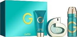 Voňavky, Parfémy, kozmetika Emper G Pour Femme - Sada (edp/100ml + deo/200ml + b/lot/100ml)