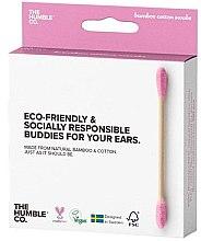 Voňavky, Parfémy, kozmetika Bambusové bavlnené tyčinky - The Humble Co. Cotton Swabs Pink