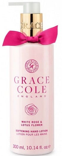 Lotion na ruky - Grace Cole White Rose & Lotus Flower Hand Lotion