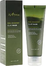 Voňavky, Parfémy, kozmetika Liečivá hlinená maska na báze paliny - Isntree Real Mugwort Clay Mask