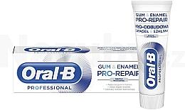 Voňavky, Parfémy, kozmetika Zubná pasta - Oral-B Professional Gum & Enamel Pro-Repair Gentle Whitening
