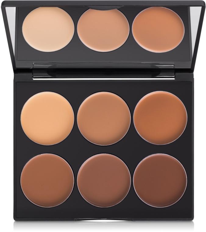 Sada pre konturovanie líc - Sleek MakeUP Cream Contour Kit