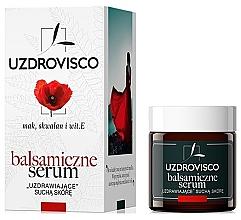 """Voňavky, Parfémy, kozmetika Balzamické sérum pre suchú pokožku """"Mak"""" - Uzdrovisco Balsamic Serum Face"""