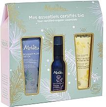 Voňavky, Parfémy, kozmetika Sada - Melvita (sh/gel/30ml + water/28ml + gei/oil/30ml)