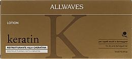 Voňavky, Parfémy, kozmetika Lotion na vlasy s keratínom - Allwaves Reconstructuring Keratin Lotion