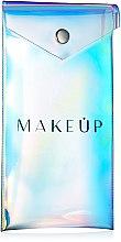 Voňavky, Parfémy, kozmetika Priehľadná kozmetická taška «Holographic», 18x9 cm - MakeUp