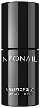 Voňavky, Parfémy, kozmetika Báza a top pre gélový lak 2 v 1 - NeoNail Professional Base/Top 2in1 UV Gel Polish