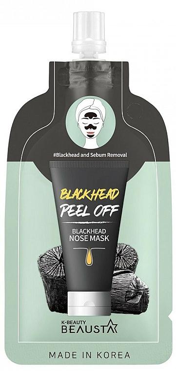 Čistiaca maska na nos - Beausta Blackhead Nose Mask — Obrázky N1