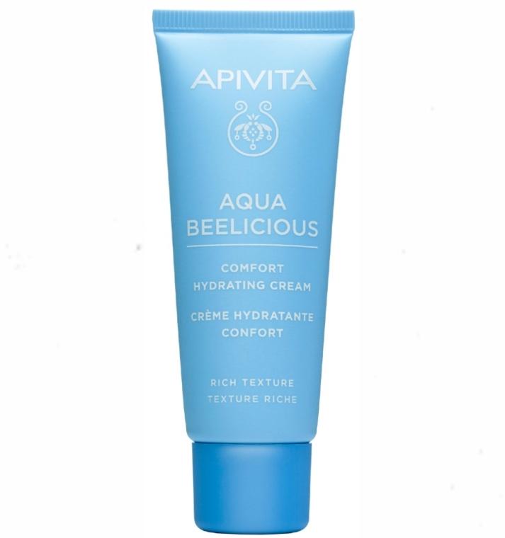 Bohatý hydratačný krém - Apivita Aqua Beelicious Comfort Hydating Cream Rich Texture